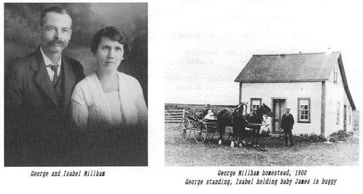 George Isabel Millham homestead