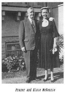 Frazer and Elsie McKenzie