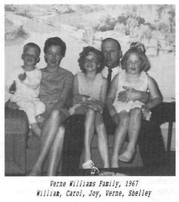 Verne Williams Family Carol Shelley
