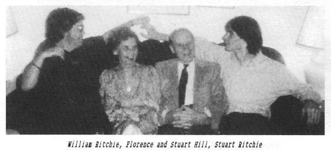 William Stuart Ritchie Florence Stuart Hill