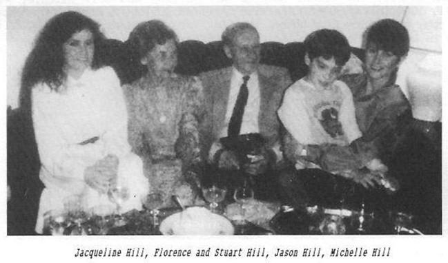 Hill family Jacqueline Florence Stuart Jason MIchelle