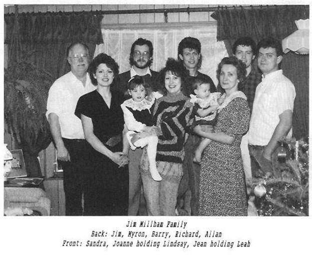Jim Millham family