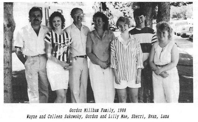 Gordon Millham Family