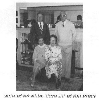 Charlie Dick Millham Florrie Hill Elsie McKenzie