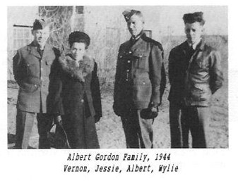 Gordon Albert Vernon Jessie Wylie