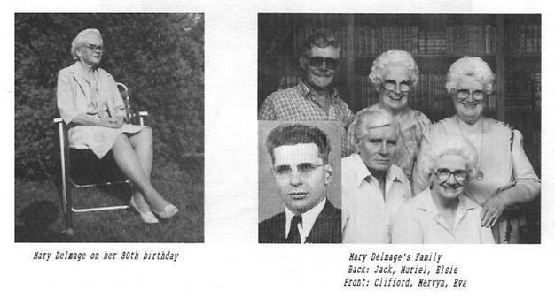 Delmage family Mary Jack Muriel Elsie Clifford Mervyn Eva