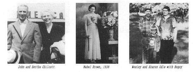 John Bertha Chilcott Mabel Brown Wesley Sharon Odie Bugsy