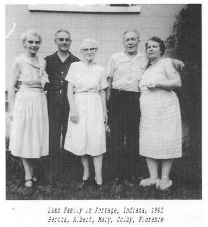 Lamb family Bertha Albert Mary Colby Florence