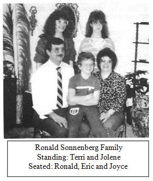 Ronald Sonnenberg Family Terri Jolene Ronald Eric Joyce