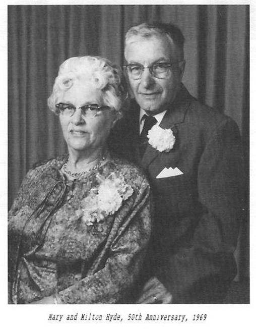 Hyde Mary Milton 50th anniversary