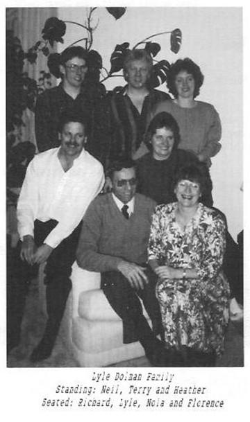 lyle dolman family neil terry heather richard nola florence