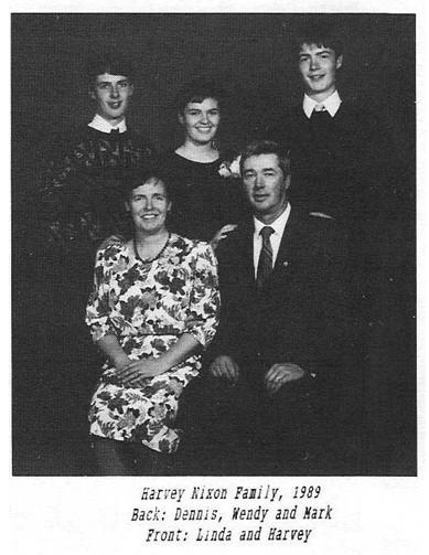 harvey nixon family dennis wendy mark linda
